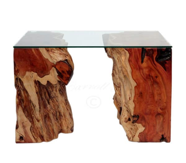 Yew Pair Table